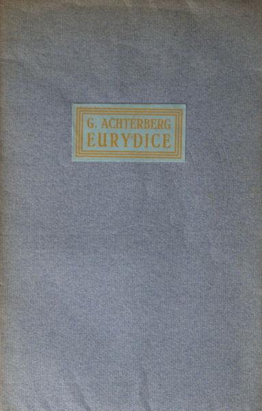 Achterberg, G. Eurydice.