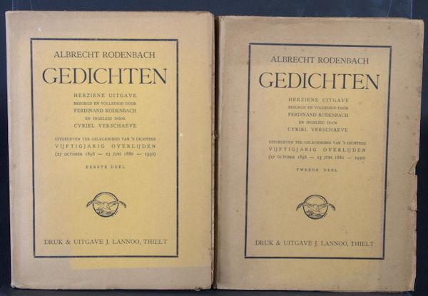 Rodenbach, Albrecht. Gedichten.