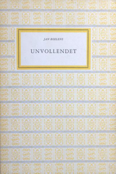 Boelens, Jan. Unvollendet.