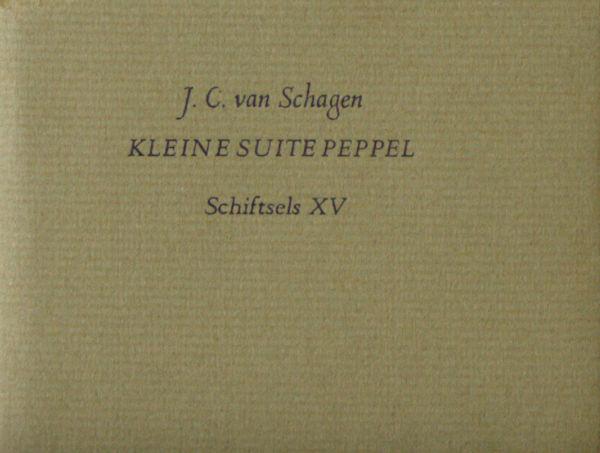 Schagen, J.C. van. Kleine suite peppel.