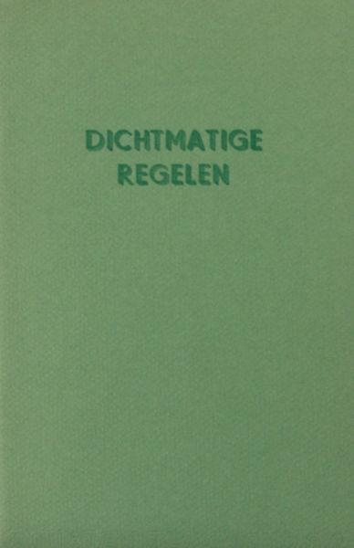 Breugelmans, R. (uitleiding). Dichtmatige regelen om drukkers proeven te corrigeren.