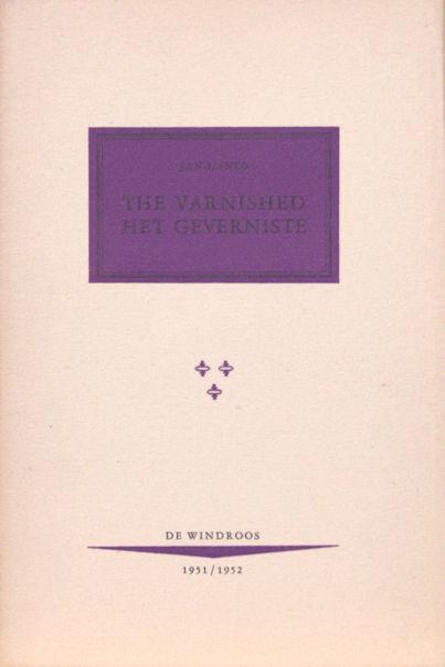 Hanlo, Jan. The varnished / Het geverniste.