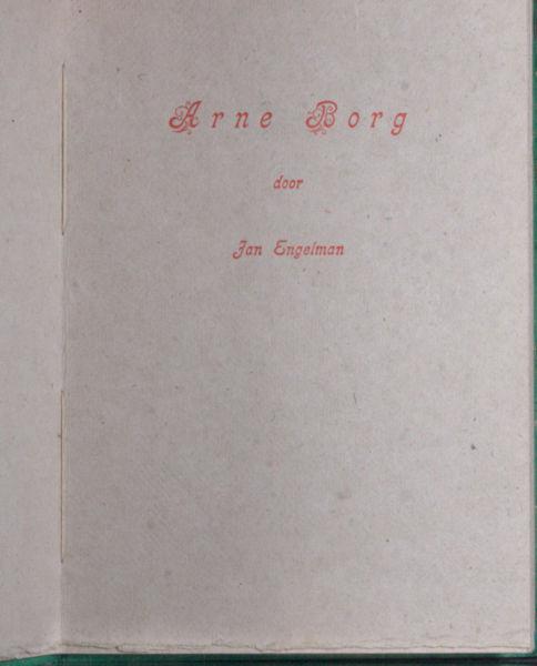 Engelman, Jan. Arne Borg.