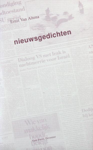 Altena, Ernst van. Nieuwsgedichten.