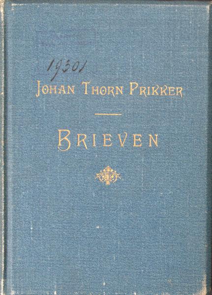 Thorn Prikker, Johan. Brieven.