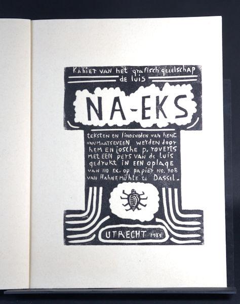 Maarseveen, Henc van. Kahier van het Grafisch Gezelschap De Luis.