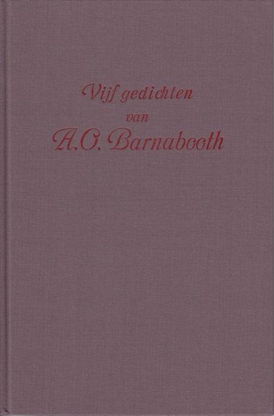 Larbaud, Valery. Vijf gedichten van A.O. Barnabooth.