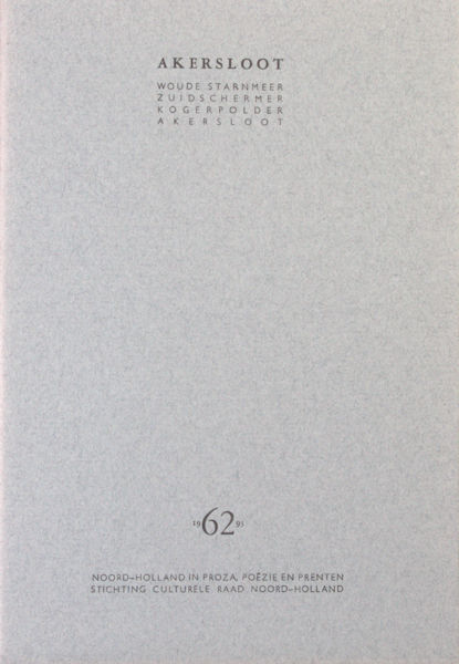 Visser, Eduard & Jeroen de Carpentier (zeefdruk). Akersloot.