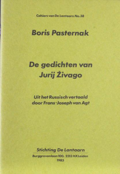 Pasternak, Boris. De gedichten van Jurij Zivago.