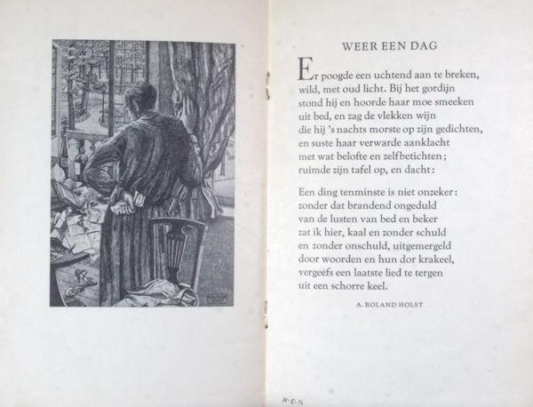 Roland Holst, A. Weer een dag.
