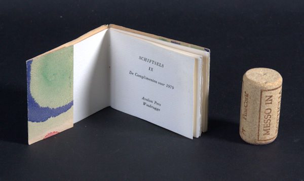 Schagen, J.C. van. Schiftsels IX.