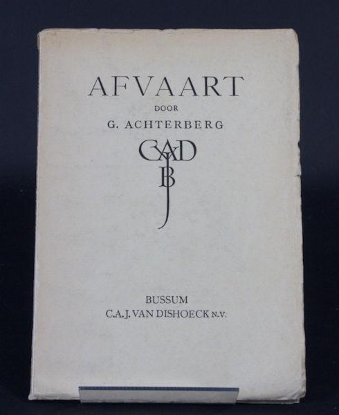 Achterberg, G. Afvaart.