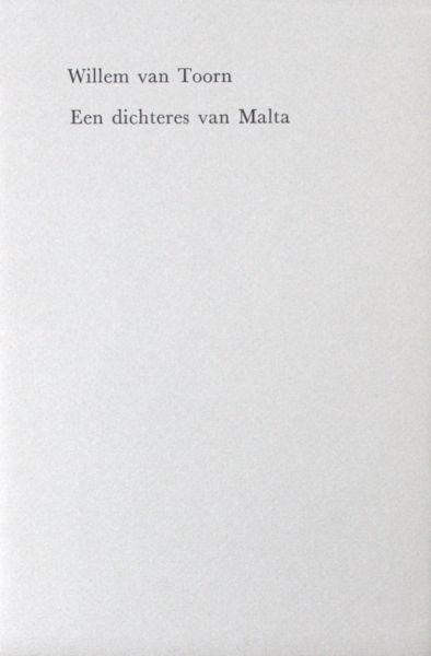 Toorn, Willem van. Een dichteres van Malta.