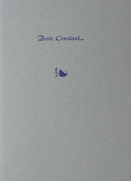 Perron, E. du. Beste Constant.
