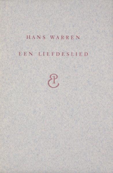 Warren, Hans. Een liefdeslied.