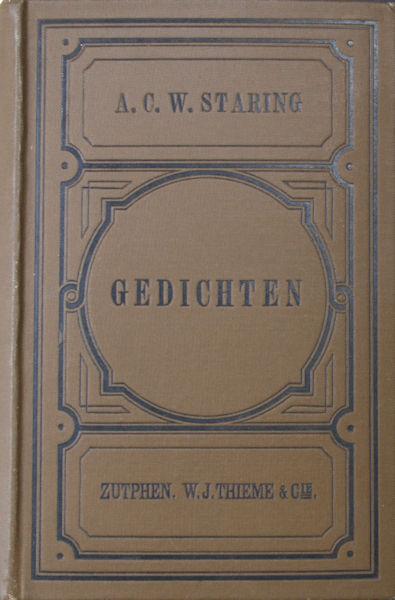 Staring, A.C.W. Gedichten.