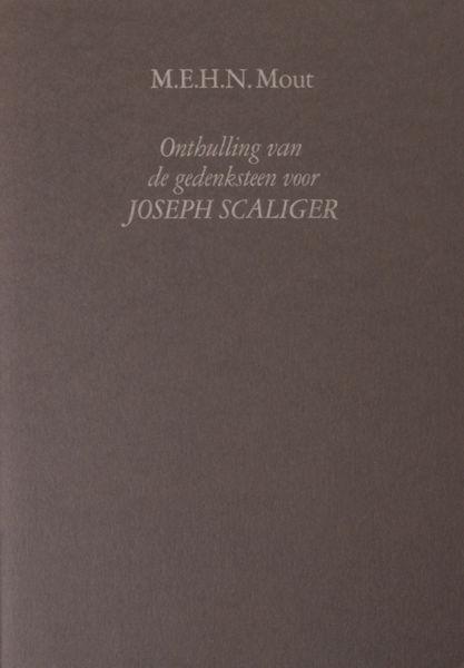 Mout, M.E.H.N. Onthulling van de gedenksteen voor Joseph Scaliger.
