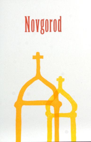 Droog, Bart F.M.. Novgorod