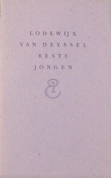 Deyssel, Lodewijk van. Beste Jongen.