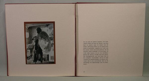 Schroevers, Marinus & Dirk de Herder (foto's). Jaroslawa Dankowa of de adem van het beeld. Verslag van een ontmoeting. Met fotografisch commentaar.