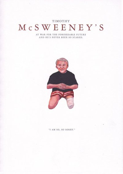 Boyle, T.C., Susan,  traight, Jim Shepard, Wells Tower, Jessica Anthony, Chris Bachelder  and others. McSweeney's Issue 14.