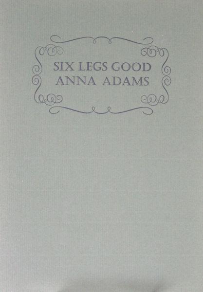 Adams, Anna. Six legs good.