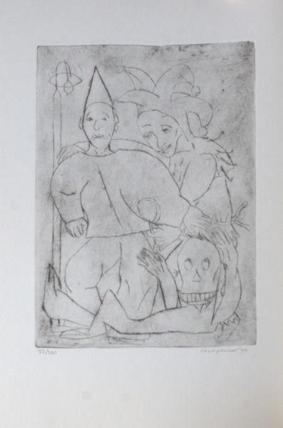 Nijhoff, Martinus. Pierrot aan de lantaarn.
