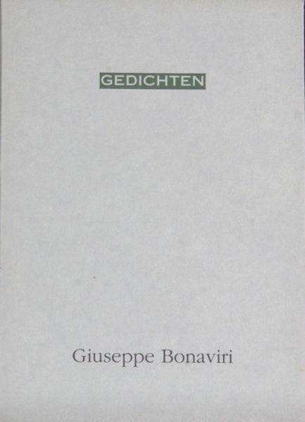 Bonaviri, Giuseppe. Gedichten.