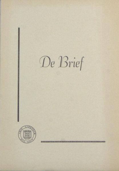 Asscher, Maarten. De brief.
