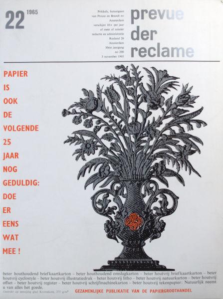 Ferdinandusse, Rinus. J.W. Holsbergen e.a. Prevue der reclame.