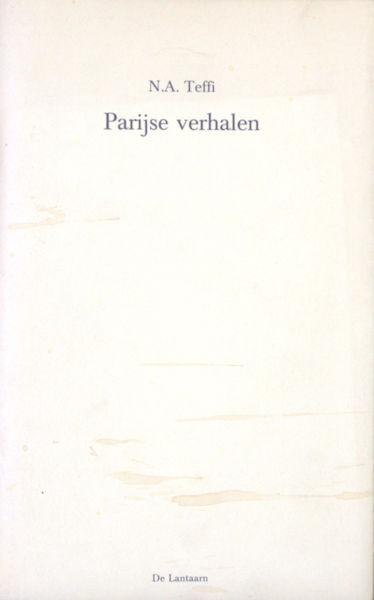 Teffi, N.A. Parijse verhalen.