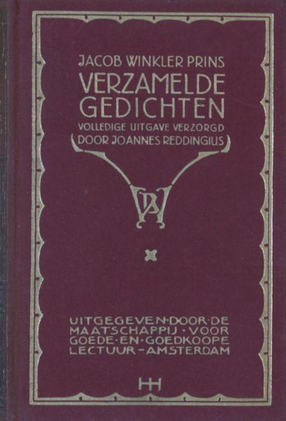 Winkler Prins, Jacob. Verzamelde gedichten.