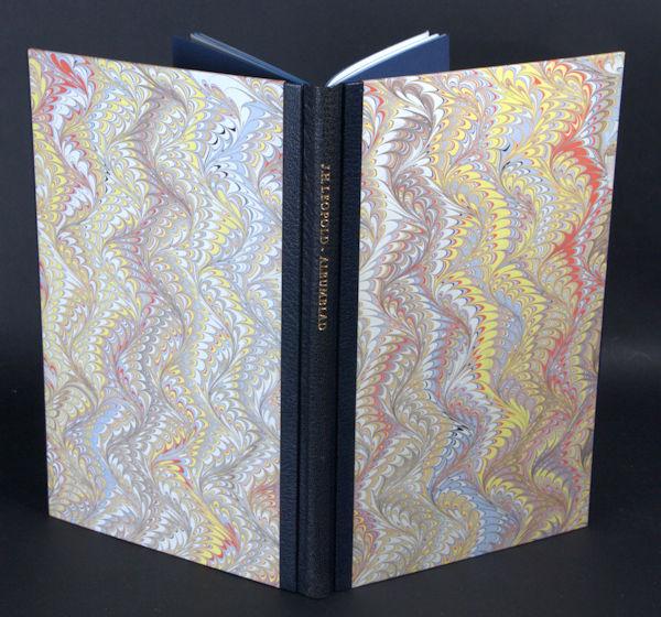 Leopold, J.H. Albumblad. Drie versies van 'Waar in de ondoorschenen lagen'.
