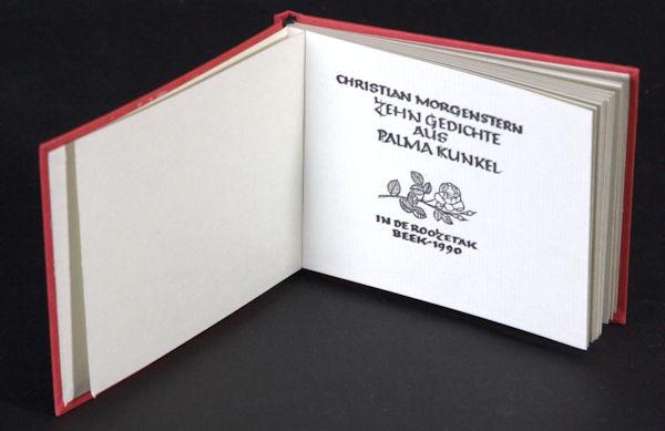 Morgenstern, Christian. Zehn Gedichte aus Palma Kunkel.