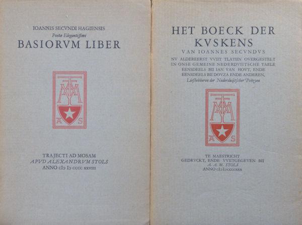 Secundus, Joannes. Basiorum liber/Het boeck der kuskens.