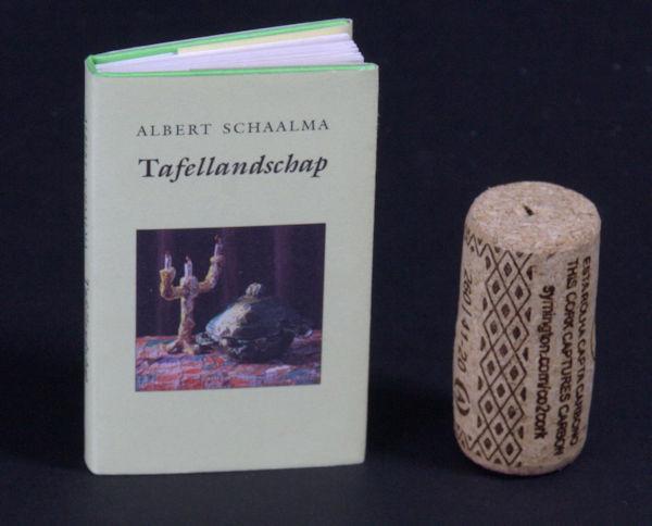 Schaalma, Albert. Tafellandschap. Monologen.
