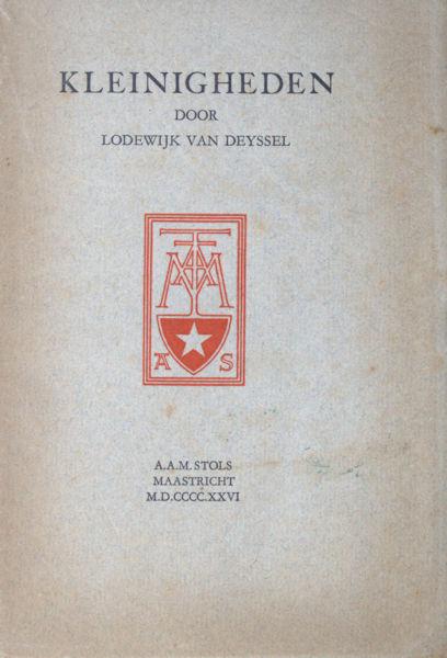 Deyssel, Lodewijk van. Kleinigheden.