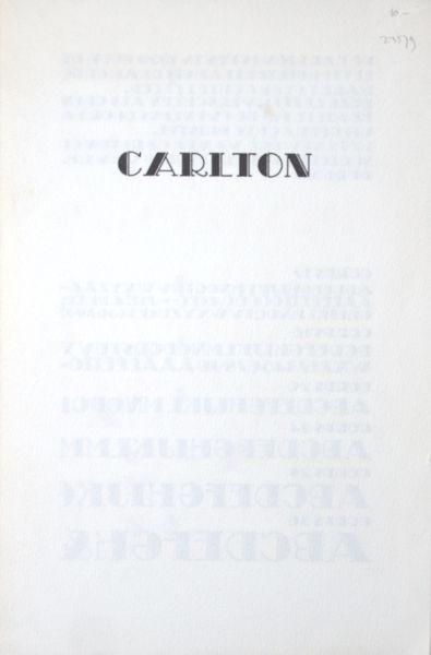 Carlton.