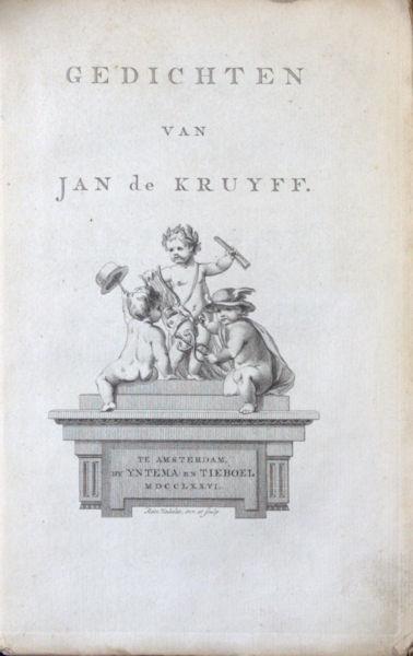 Kruyff, Jan de. Gedichten.