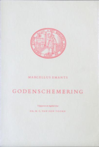 Emants, Marcellus. Godenschemering.